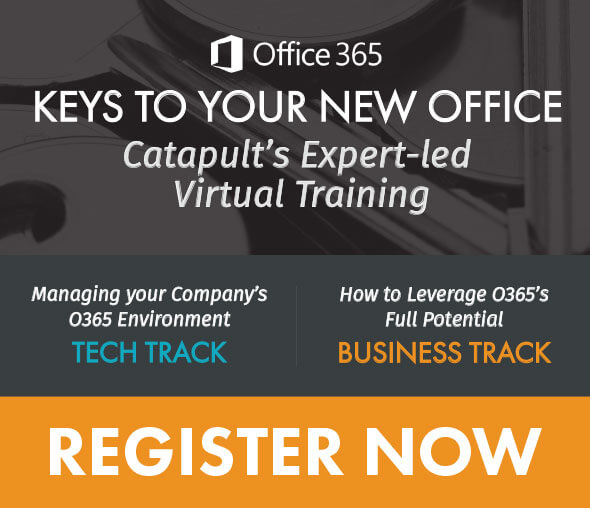 Register for O365 Virtual Training, Business or Tech Track.