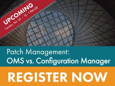 Patch Management Webinar Registration