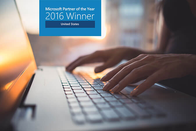 Catapult Systems recognized as Microsoft Partner of the Year 2016