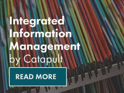 Integrated information management by Catapult- Read More