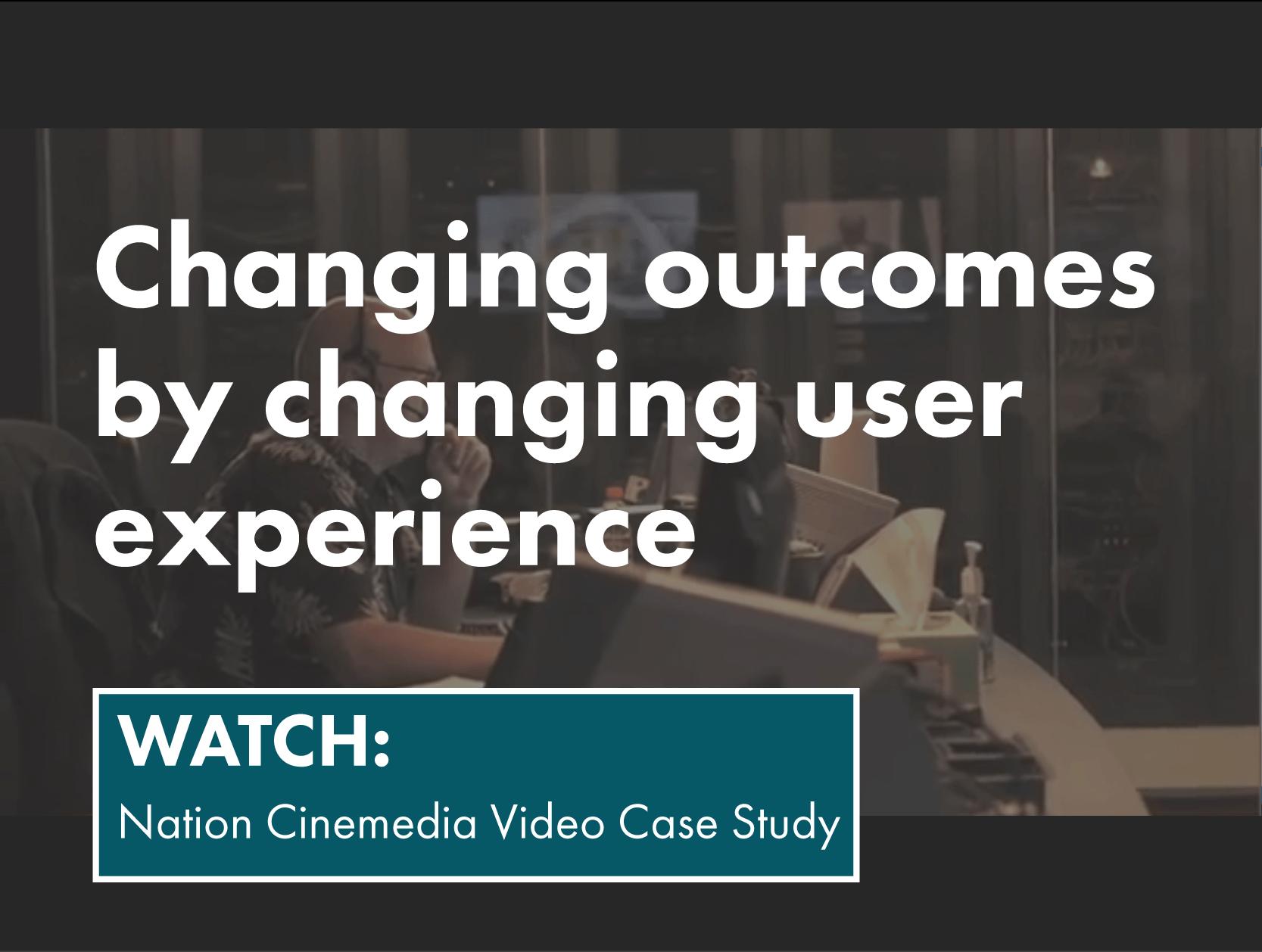 Cinemedia- video case study