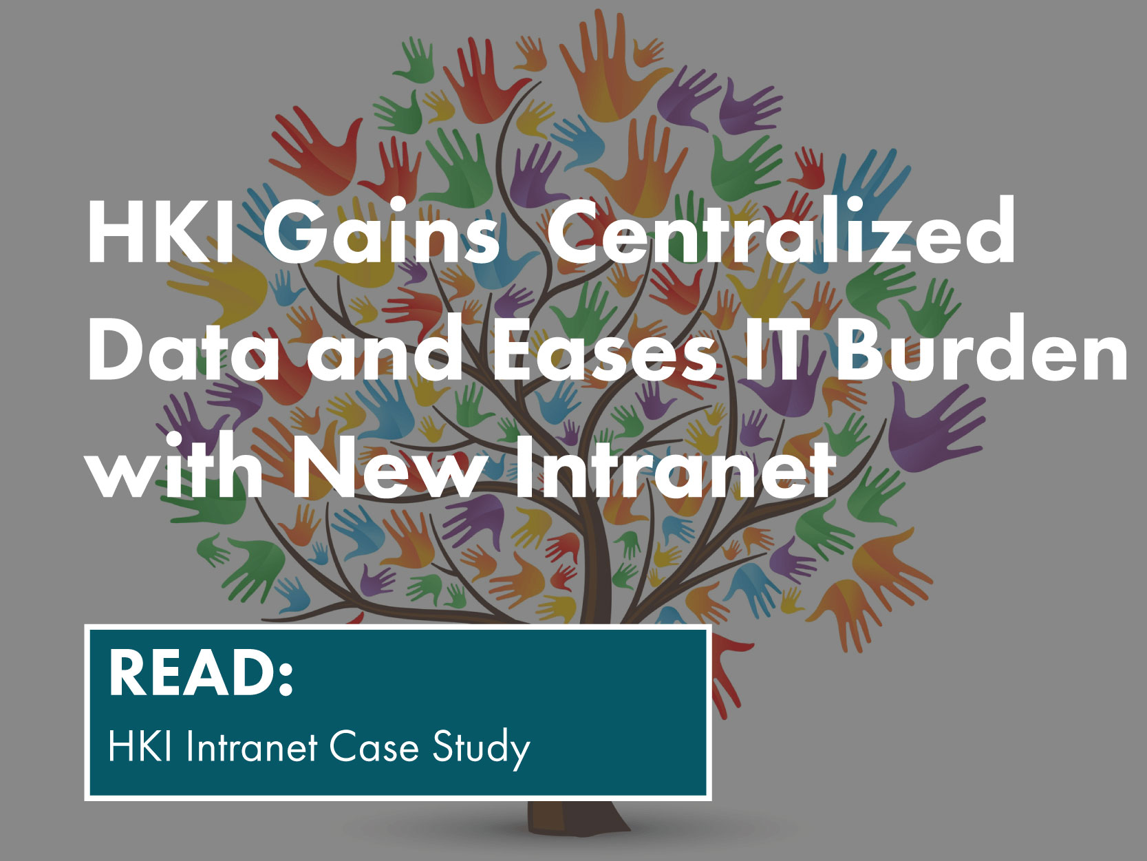 HKI gains centralized data and eases IT burden with new intranet. Read the HKI Intranet Case Study.