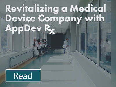 Revitalizing a Medical Device Company with AppDev RX Case Study