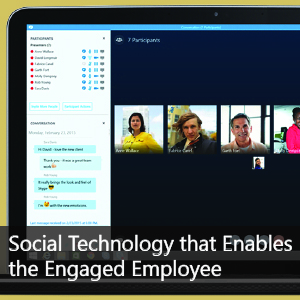 Social Technology that Enables the Engaged Employee