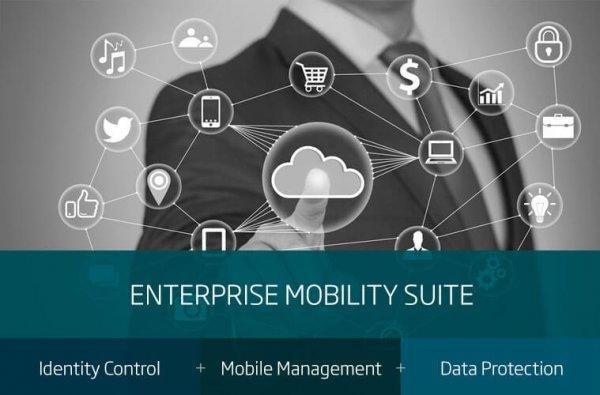 Enterprise Mobility Suite - Identity Control + Mobile Management + Data Protection