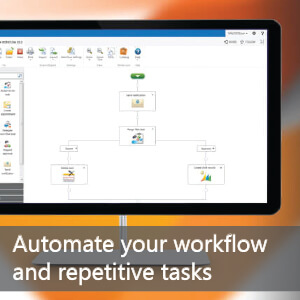 Automate your workflow and repetitive tasks