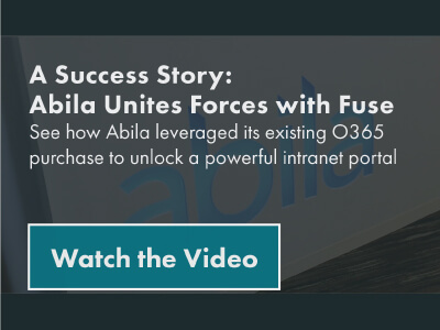Watch the Fuse Case Study: Abila Unites Forces with Fuse