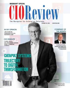 Catapult's CEO, David Fuess, featured in CIO Review