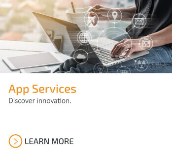 Discover Innovation. Learn more about Catapult's App Services.