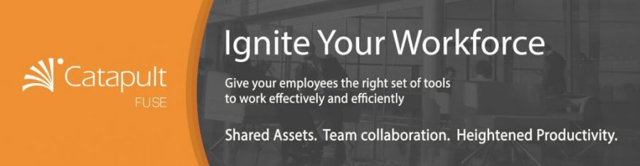 Ignite your workforce with Fuse. Give your employees the right set of tools wo work effectively and efficiently with shared assets, team collaboration, and heightened productivity. Learn more.