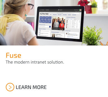 Fuse. The modern intranet solution. Learn more.