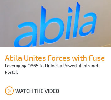Abila unites forces with Fuse, Catapult's employee engagement portal.