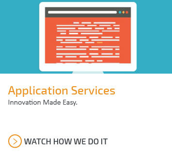 Catapult's application services makes innovation easy. Watch how we do it.