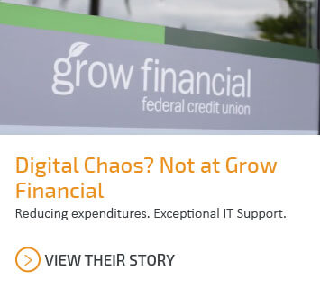 Learn how Grow Financial reduced expenditures and received exceptional IT support.