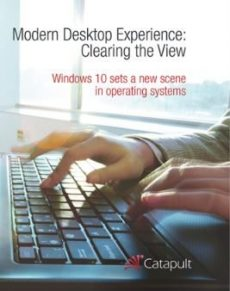 Modern Desktop Experience:   Clearing the View
