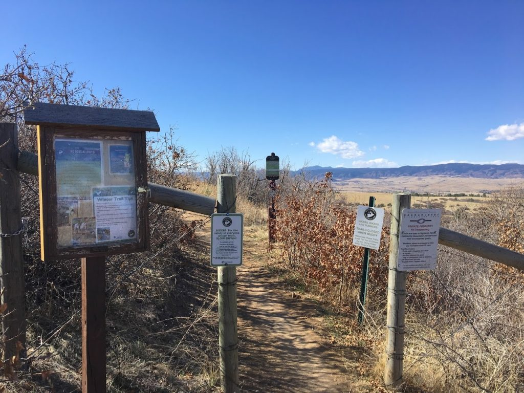 Backcountry Trail Signs