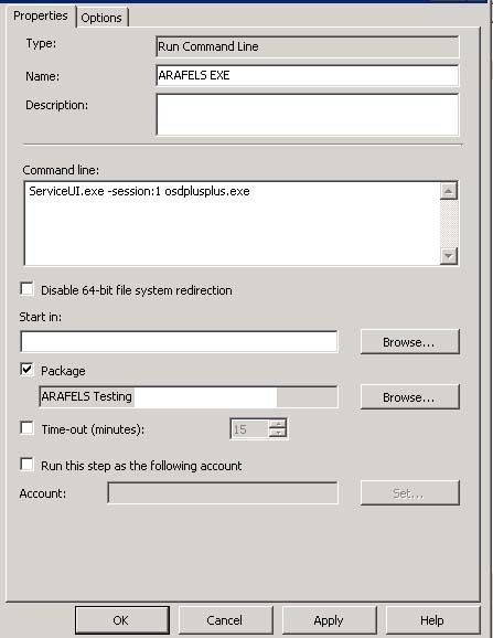 Asking for user input during a Configuration Manager
