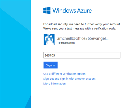 Enabling and Configuring Multi-Factor Authentication for #Office365