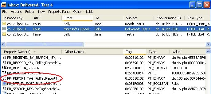 BUG: Exchange 2010 Read Receipt Processing - Catapult Systems