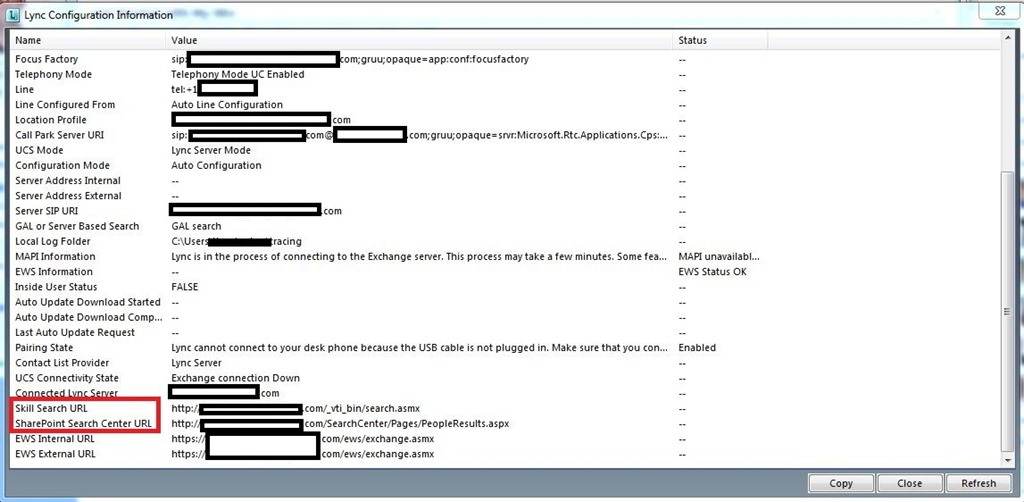 Enabling Skill Search in Lync 2010 - Catapult Systems