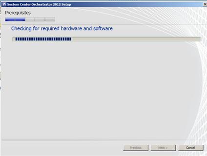 System Center Orchestrator Server Installation - Catapult