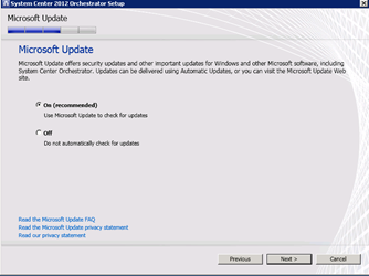 System Center 2012 Orchestrator Installation - Catapult Systems
